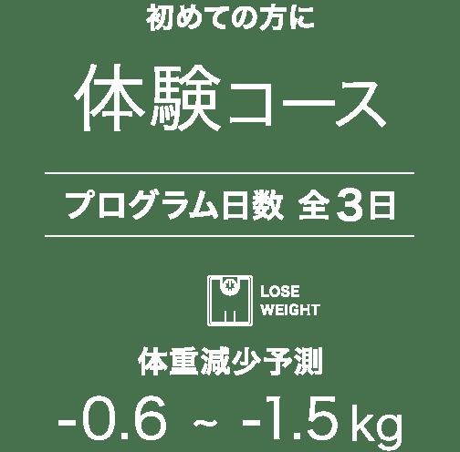 断食体験コース